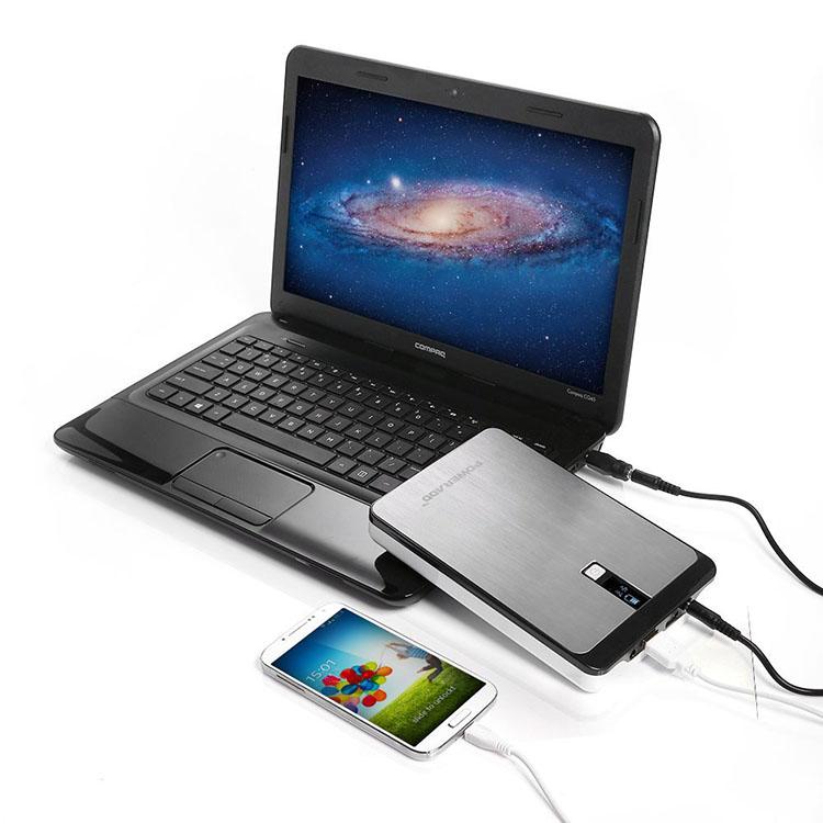 Digital Display Dual Usb Battery Power Bank For Smart Device ...