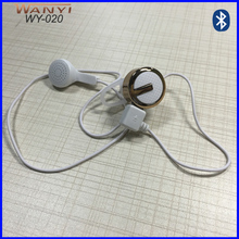 High Quality Bluetooth In-ear Headphone earpieces with slender line WY-020