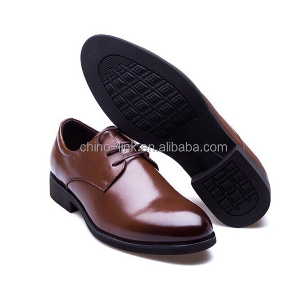 men's leather dress shoe / commerce shoes with high quality