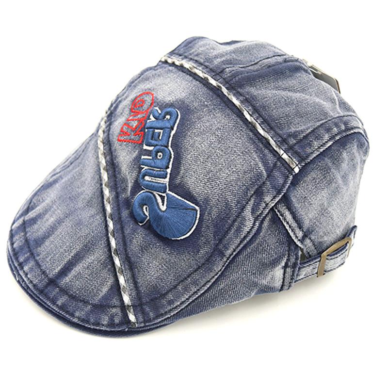 983f95c2baa Get Quotations · Super Kids Cool Hat Boys Beret Caps Good Quality Adjustable  Gorras Casquette For Children  H059