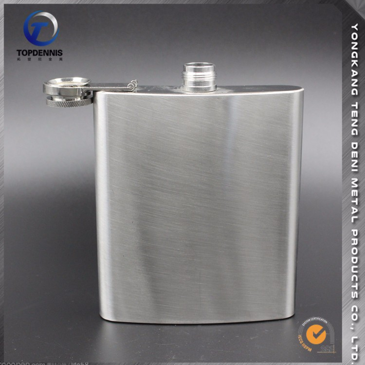 Quick Delivery Low MOQ SGS 500ml hip flask