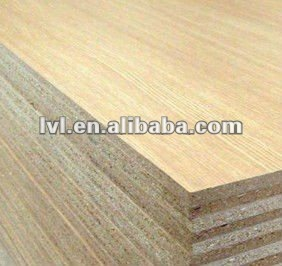 wood veneer particle board / flakeboard for decoration