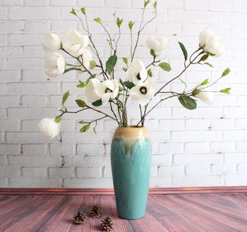 Factory Price Hobby Lobby Wholesale Artificial Magnolia Flowers