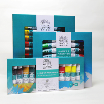 Winsor newton 10ml art acrylic colour set