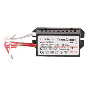 HC Lighting Halogen//Xenon Electronic Transformer 60 Watt Max output 120 Volt Input 12 Volt Out Put Potted Transformer
