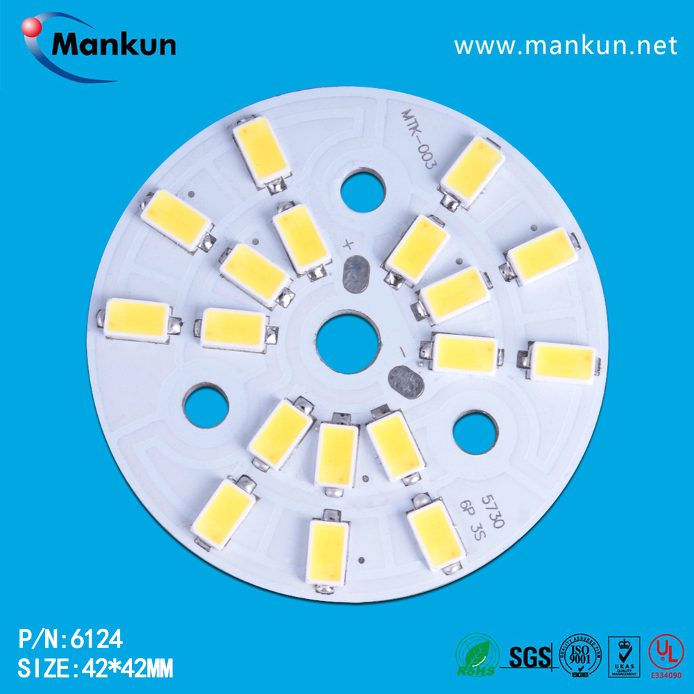Hot Sell Round Smd Samsung 5730 Led Bulb Pcb 3w 5w 7w 9w 12w 18w ...