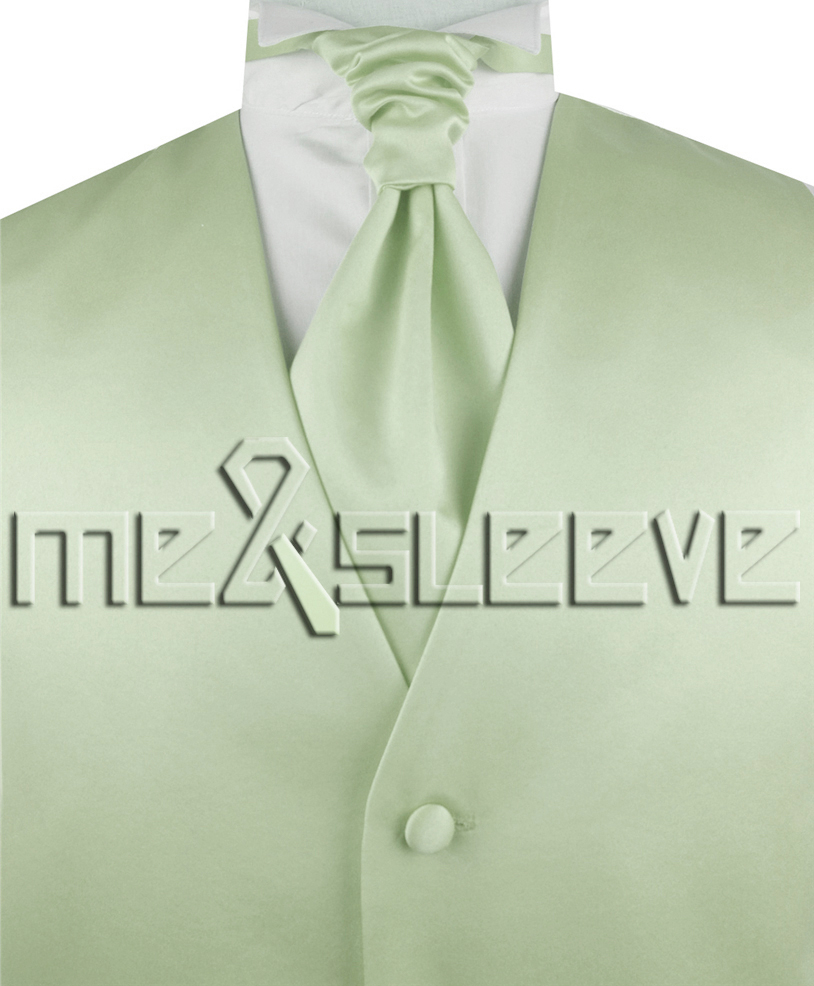 2f515f4cb4e2f hot sale free shipping solid light peak green suit waistcoat(vest+ascot  tie+cufflinks+handkerchief) - us545