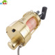 Custom CNC milling high voltage brass electric fishing reel