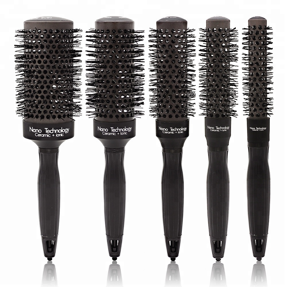 Home Appliances Set Of 4 Hair Brush Sponge Twist Wave Barber Tool For Dreads Afro Locs Twist Curl Black Red To Have Both The Quality Of Tenacity And Hardness