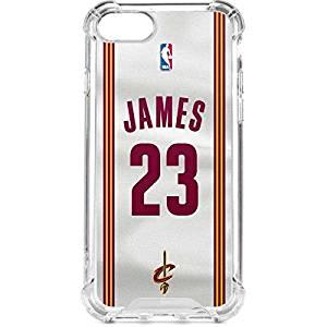 Get Quotations · NBA Cleveland Cavaliers iPhone 7 LeNu Case - LeBron James  23  Cleveland Cavaliers Home Jersey ec57d7a30