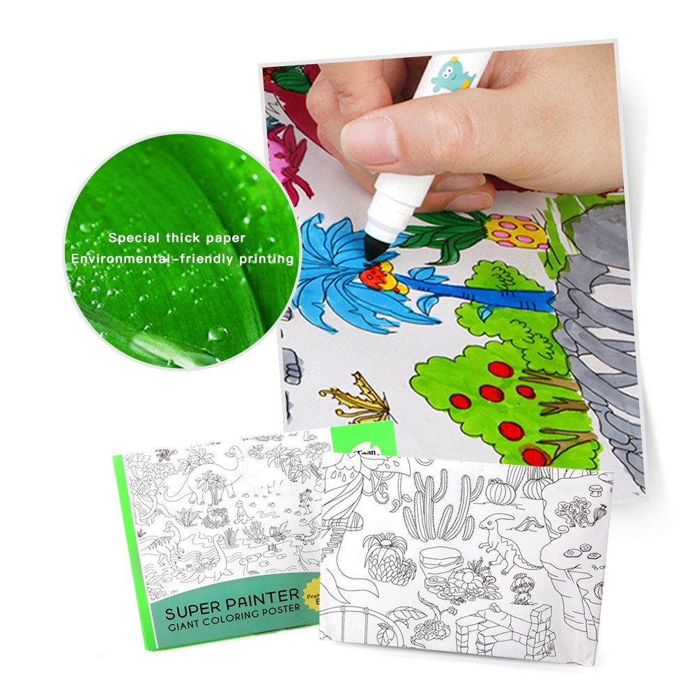 Wholesale Printing Large Giant Coloring Poster For Kids - Buy ...