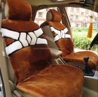 faux sheepskin fur Winter car seat cushion