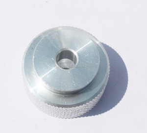 High precision part Aluminum rotation and torsion a6063 with natural anodizing