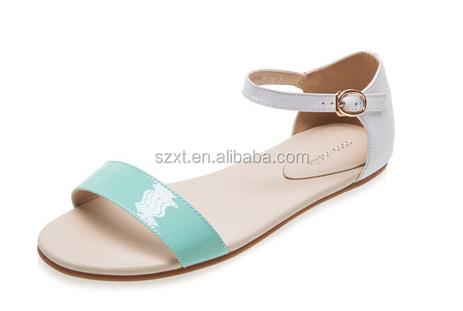 New Lady Shoes For Flat Feet China Wholesale Flat Sandals Women ...