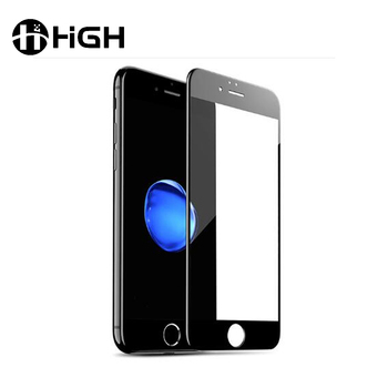 Oem bullet proof 3d 0.2mm 9h full cover cell phone screen protector tempered glass for iphone 7