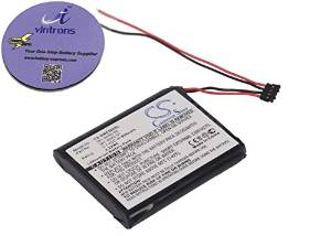 vintrons Replacement Battery For GARMIN Edge 200, Edge 205, Edge 500, Edge 510 + $5 Value 3.5mm Male To Male Stereo Audio Cable