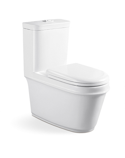 ad 8011 modern one piece toilet sanitary wares colored toilet bowl