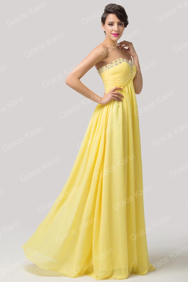 Elegant Long Dresses Straplese