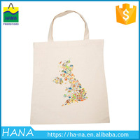 Fashionable hot selling cotton beach bags promotional
