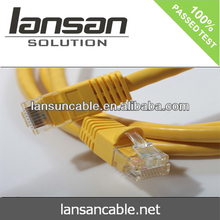 LANSAN High quality Excellent high speed UTP cat5e ethernet patch cable