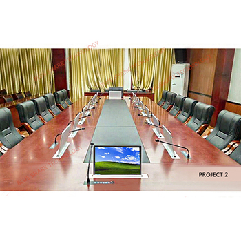 Motorized LCD Hoist lift for Video Conference System