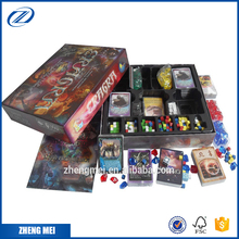 Popular design customized board game with acrylic gems