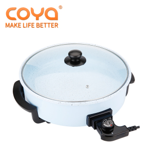 Wholesale ceramic stainless steel frying electric pizza 110v pancake pan 1500w