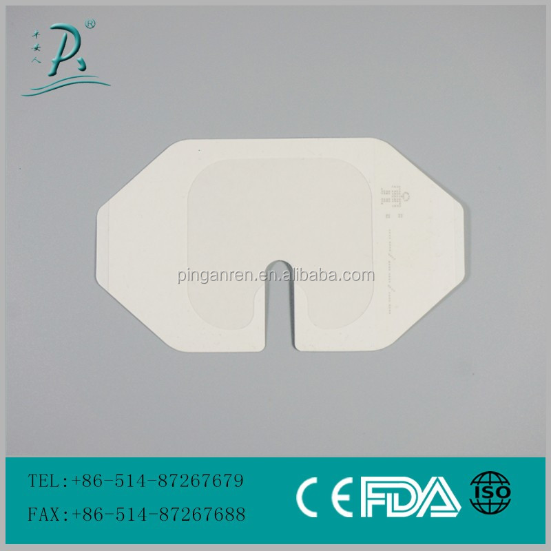 free samples disposable transparent film dressing frame style iv cannula dressing