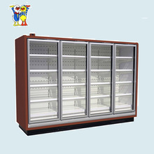 Little Duck supermarket glass door display fridge E7 ATLANTA/MIAMI CE