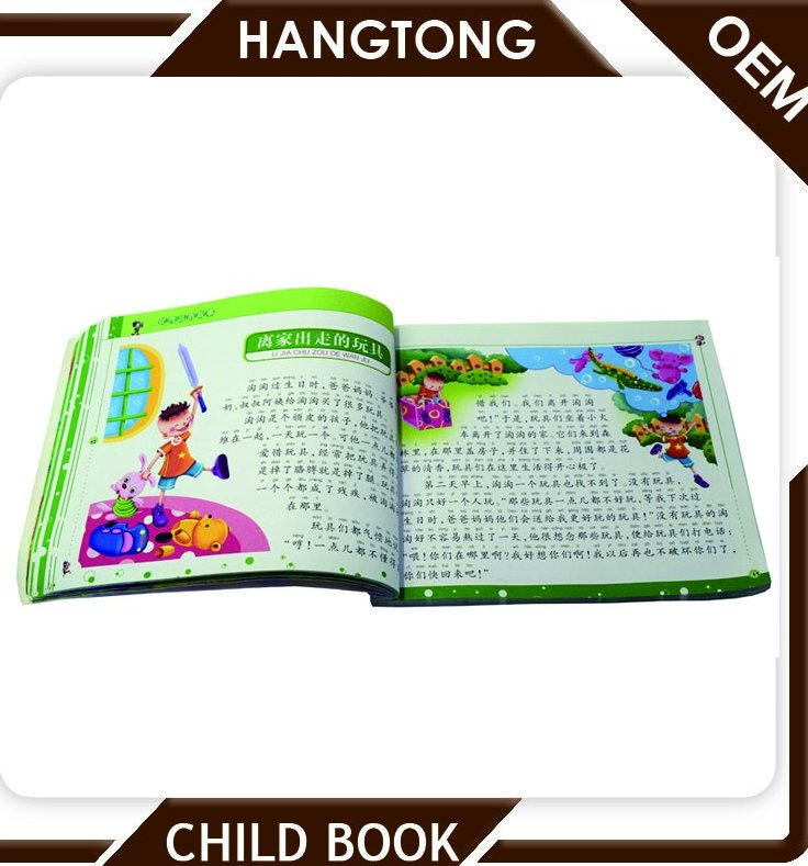 children english funny story book, china printing factory