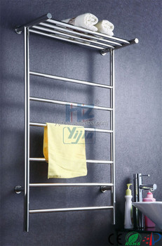 Stainless Steel U0026quot;Tu0026quot; Shape Heated Towel Rail Towel Warmer,Bathroom  Accessories Towel