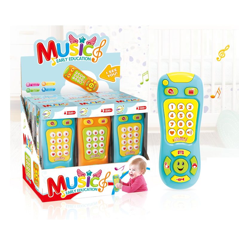 Factory price Educational Musical Mobile Remote Control Baby Toy With light