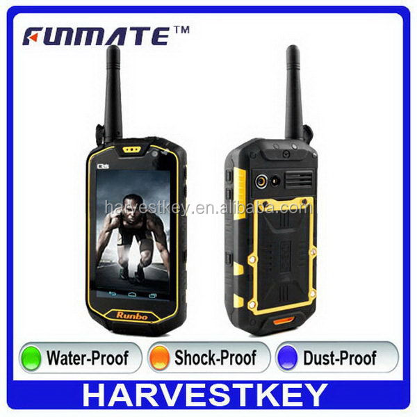 Cheap classical X5 4.5inch 8M Camera vhf uhf walkie talkie phone