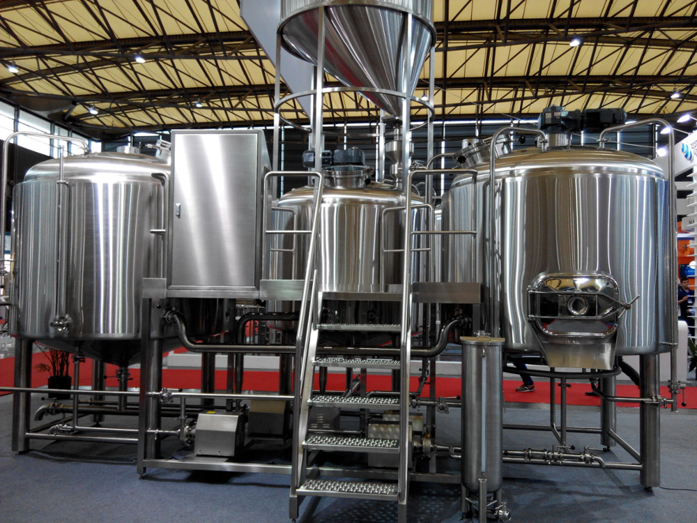 1500L craft beer brewing equipment for micro brewery