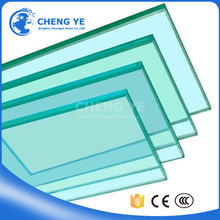 High Security Commercial Buildings 12mm 15mm 19mm Silk Screen Printing Toughened Tempered Glass
