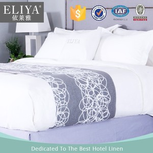 Light white hotel bed sheet/ bed sheet designs/bed sheet factory