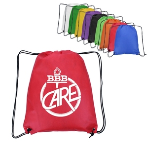 Customized Economy Non Woven Drawstring Bag