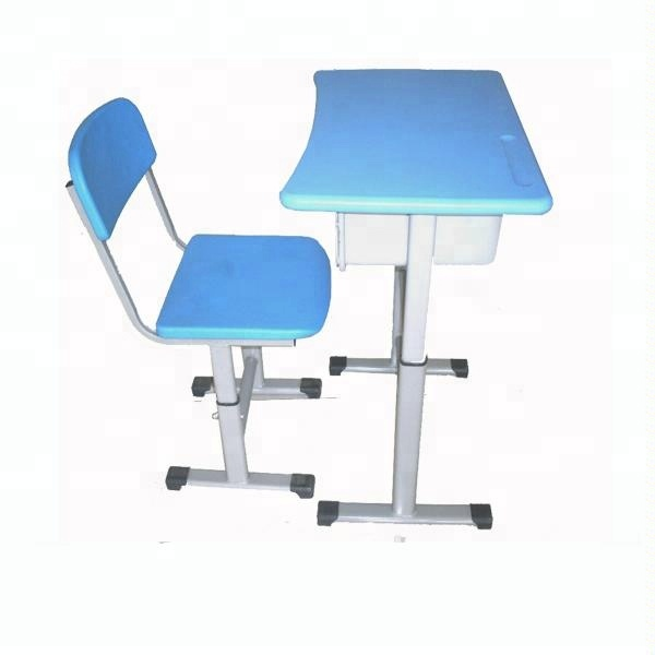 Awesome Cheap Used Comfortable School Classroom Wooden Adult Adjustable Single Student Desk And Chair Attached Buy Adjustable Student Desk And Ocoug Best Dining Table And Chair Ideas Images Ocougorg