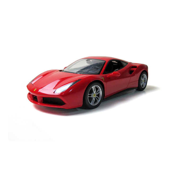 RASTAR electric racing toy Ferrari 488 remote control vr simulator car