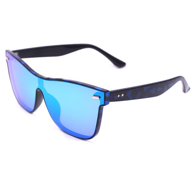 018a3d7375c4 Calidad personalizado italiano rimless ronda oro rosa espejo gafas de sol  con marco redondeado