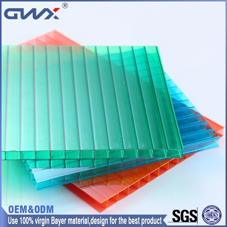 Bayer raw material 10 years warranty China 2015 new polycarbonate sun sheets