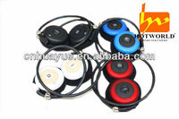 Wireless bluetooth mp3 headphone integrated with mobile phone/PDA/PMP/MP3