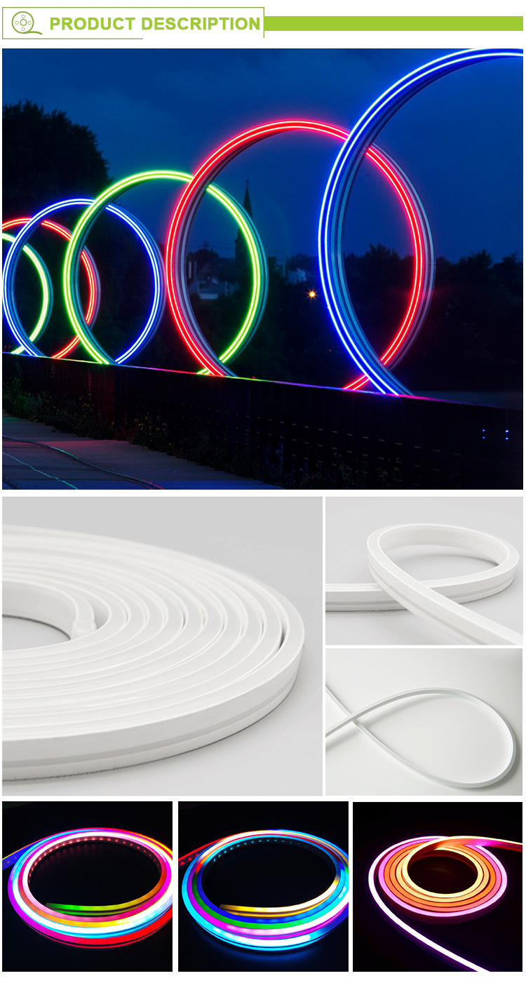 LED Strip 12V SMD 5050 Flexible Soft Wire IP67 Waterproof 120leds/m Flexible LED Light Lamp Outdoor Neon light