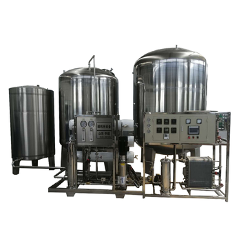 high purification rate Industrial water and drinking mineral water treatment plant of 3T RO+EDI water treatment