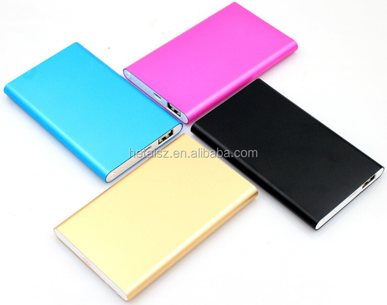 High quality Aluminum case power bank, mobile power bank 5600mAh, portable power bank for xiaomi, iphone, samsung
