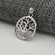P0013 New Jewelry 925 Sterling Silver Tree of Life Charm European Style Hollow Charm Gift for Family Best Friends