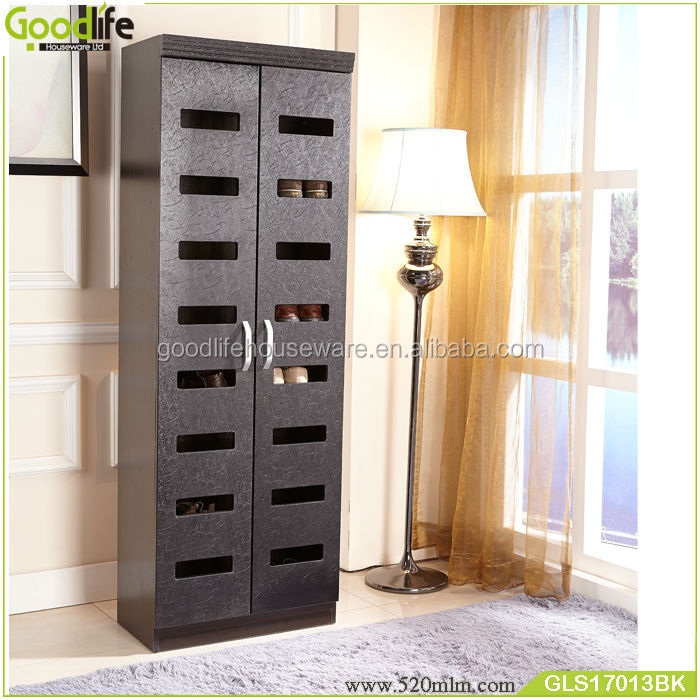 living room furniture new arrival tall wooden ventilation shoe cabinet