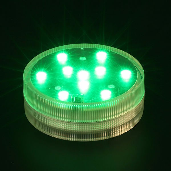 Submersible floralyte waterproof LED light base with Remote controlled for wedding table centerpieces