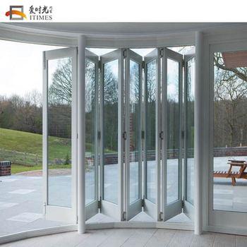 Aluminium Folding Door Outdoors Balcony Folding Doors