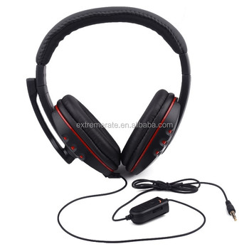Fashionable Design First-class Headset Headphone With Mic For Ps4  Controller - Buy Headphone For Ps4,Headset For Ps4,Microphone For Ps4  Product on